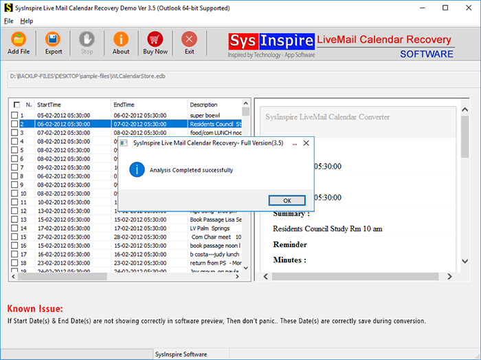 how to export windows live mail calendar to outlook
