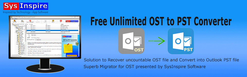 free unlimited ost to pst converter