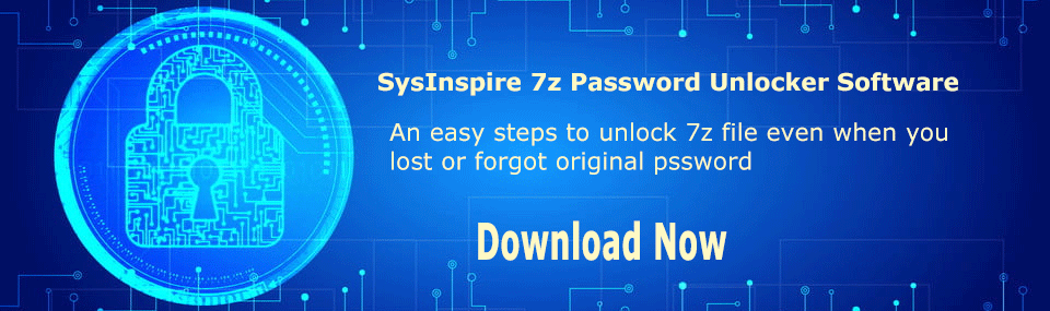 7z password unlocker software