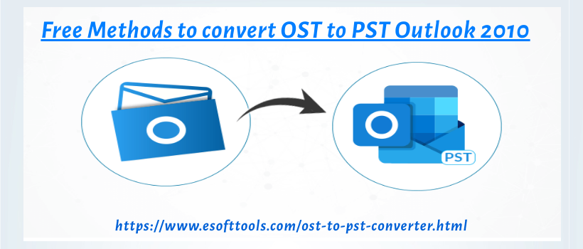 convert ost to pst outlook 2010