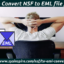 How to Convert NSF to EML file format?