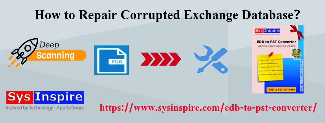 repair corrupted exchange database