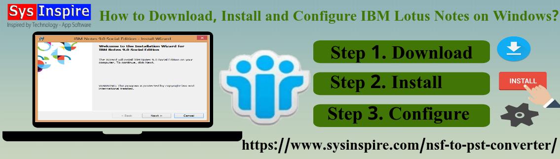 Configure IBM Lotus Notes on Windows