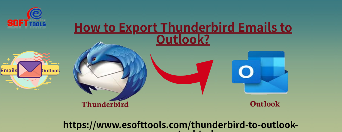 Export Thunderbird Emails to Outlook