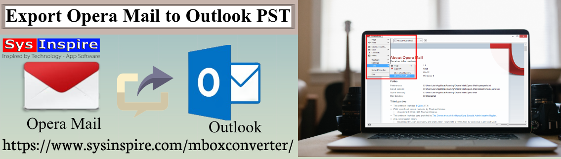 Export Opera Mail to Outlook PST