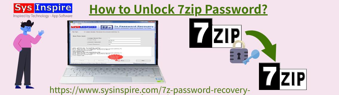 Unlock 7zip Password
