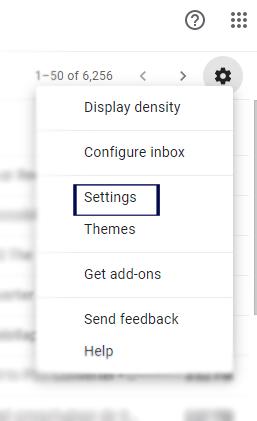 Gmail Settings