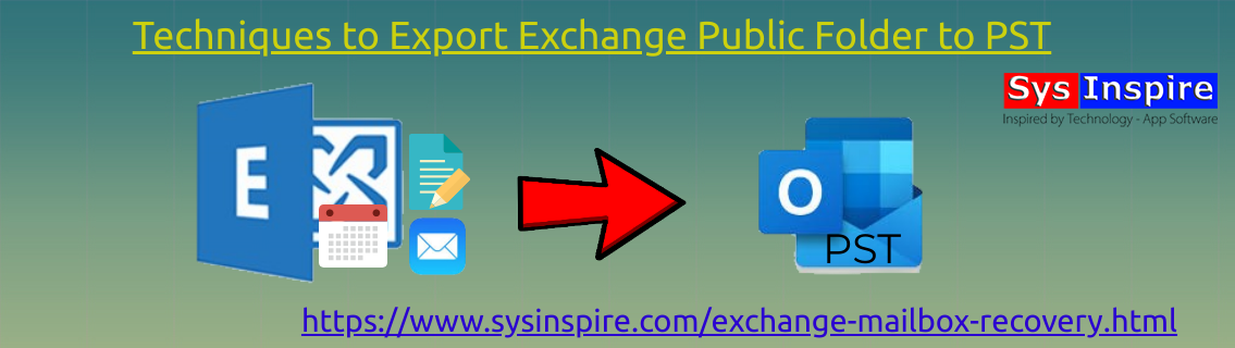 Export Exchange Public Folder to PST