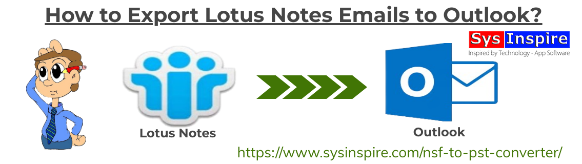 Export Lotus Notes Emails to Outlook