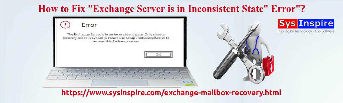 Fix Exchange Server is in Inconsistent State Error