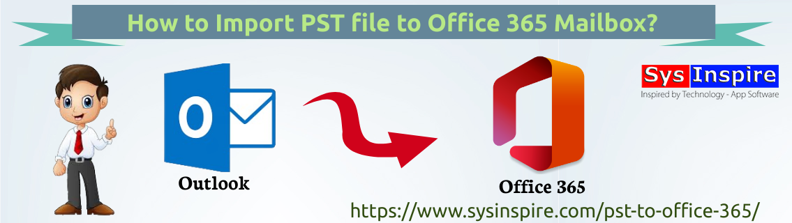 Import PST file to Office 365 Mailbox
