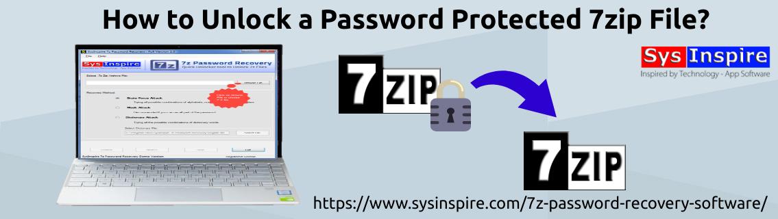Unlock a Password Protected 7zip File