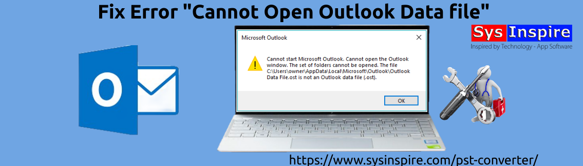 Cannot open outlook data file