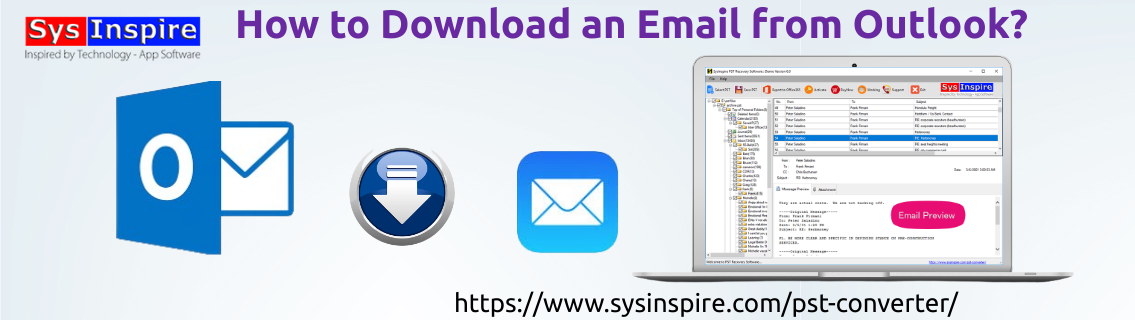 Download an Email from Outlook