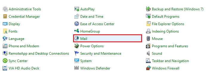 0x8004010f Outlook Data file cannot be Accessed