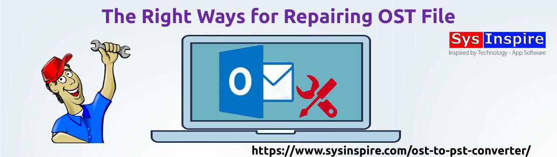 repairing ost file