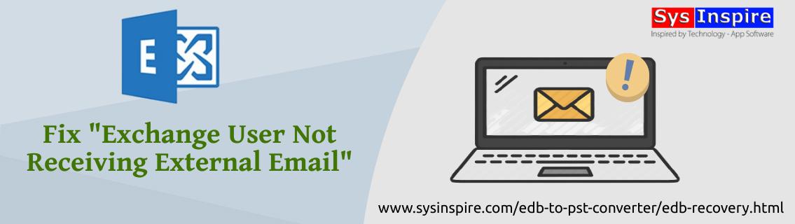 Exchange User Not Receiving External Email