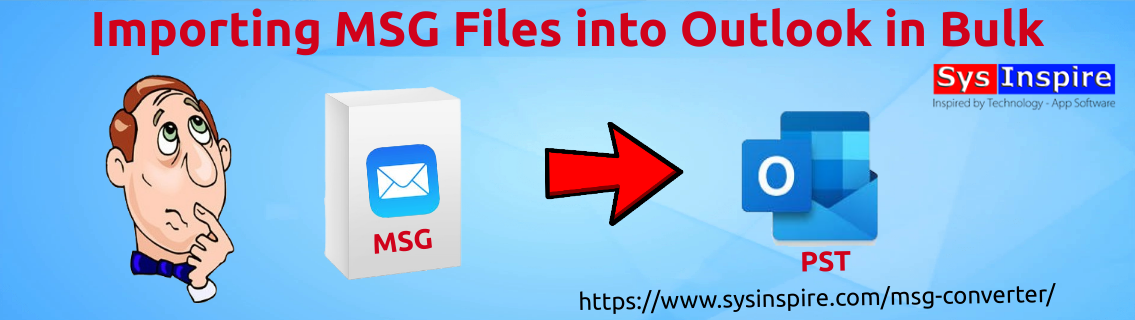 Importing MSG Files into Outlook