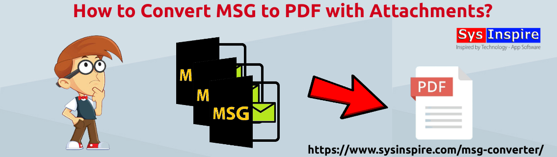 Convert MSG to PDF with Attachments