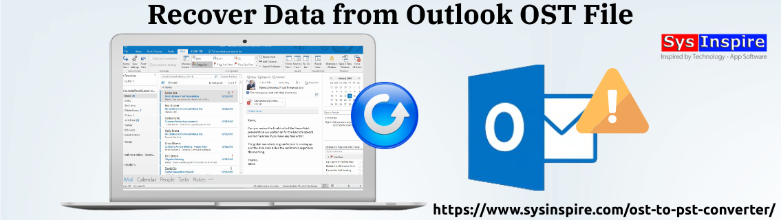 Recover Data from Outlook OST File