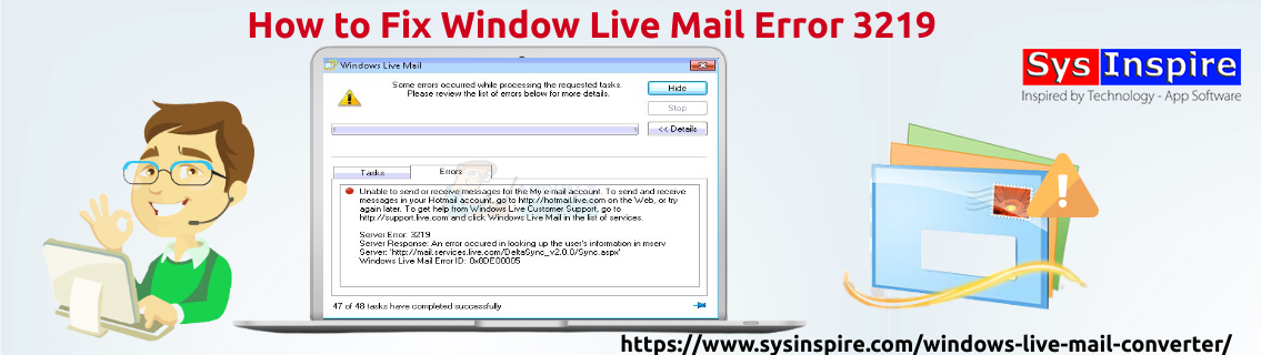 Window Live Mail Error 3219
