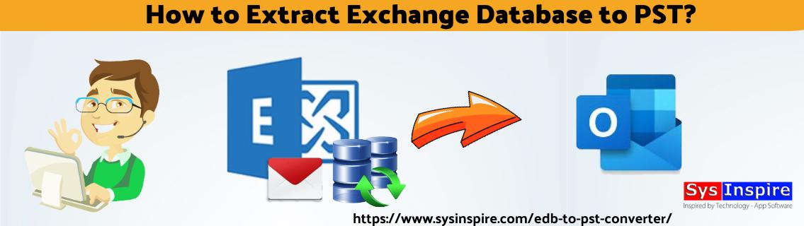 Extract Exchange Database to PST