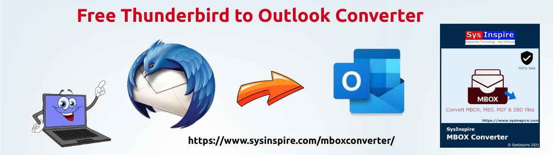Free Thunderbird to Outlook Converter