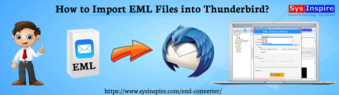 Import EML Files into Thunderbird