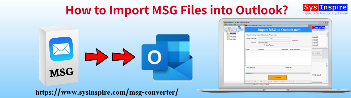 Import MSG Files into Outlook