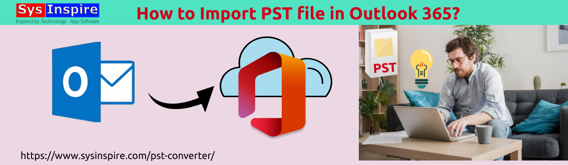 import pst in outlook 365