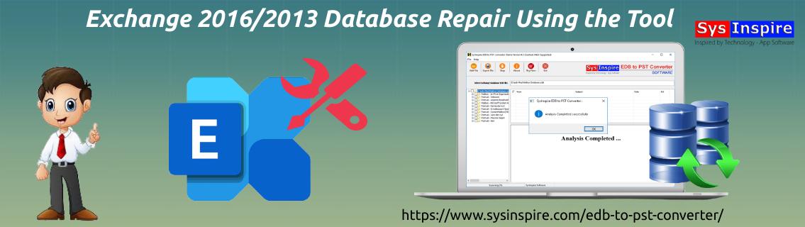exchange 2016/2013 database repair