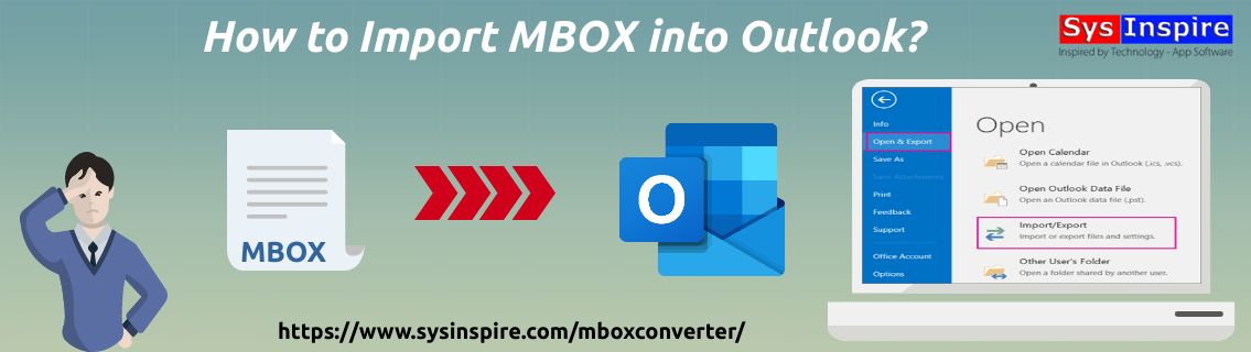 Import MBOX into Outlook