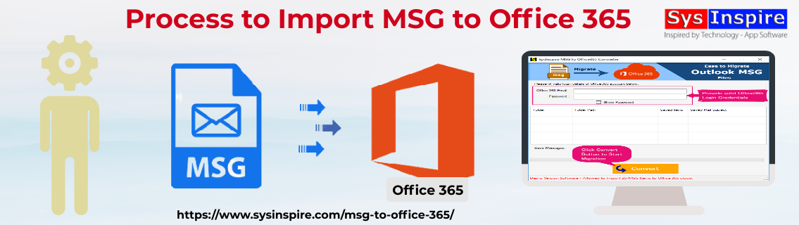 import msg to office 365