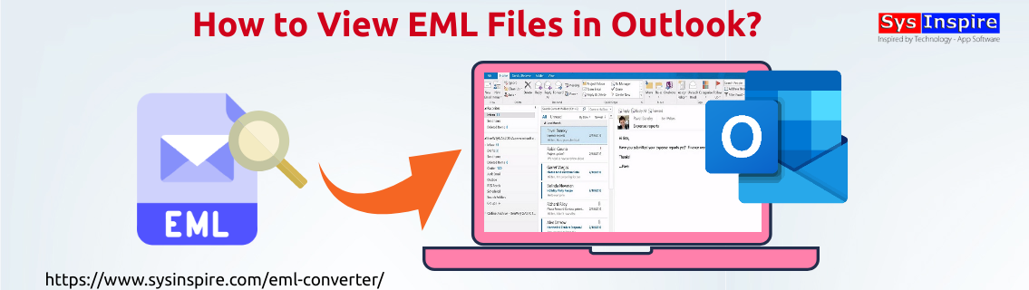 View EML Files in Outlook