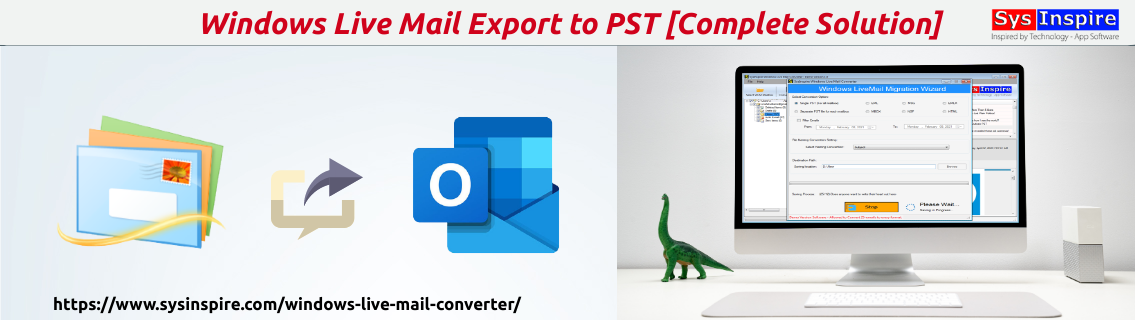 windows live mail export to pst