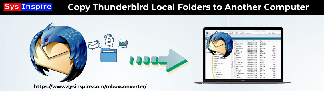 Copy Thunderbird Local Folders to Another Computer