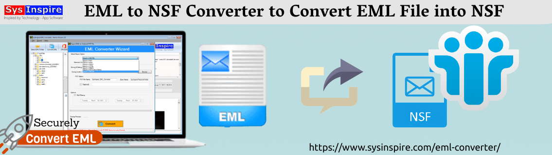 EML to NSF Converter