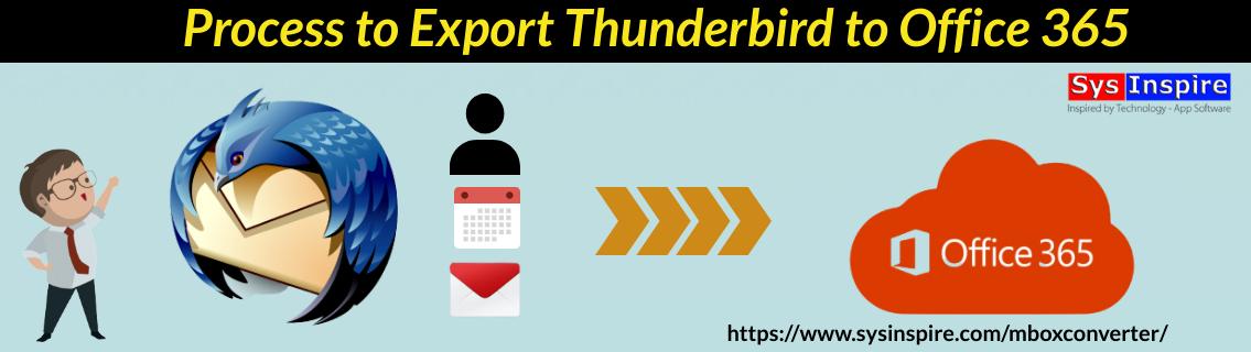 Export Thunderbird to Office 365