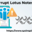How to Fix Corrupt Lotus Notes NSF File?