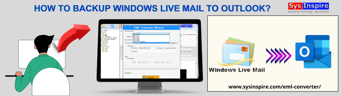 Backup Windows Live Mail to Outlook
