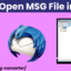 How to Open MSG File in Thunderbird?