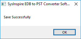 convert edb file