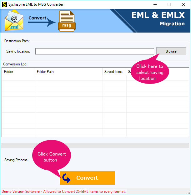 migrate eml to msg