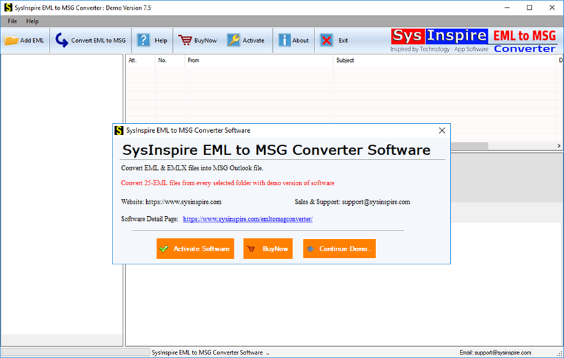 eml to msg export